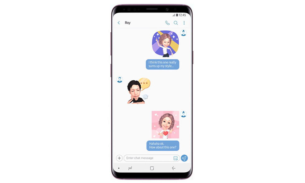 galaxy s9 new ar emoji