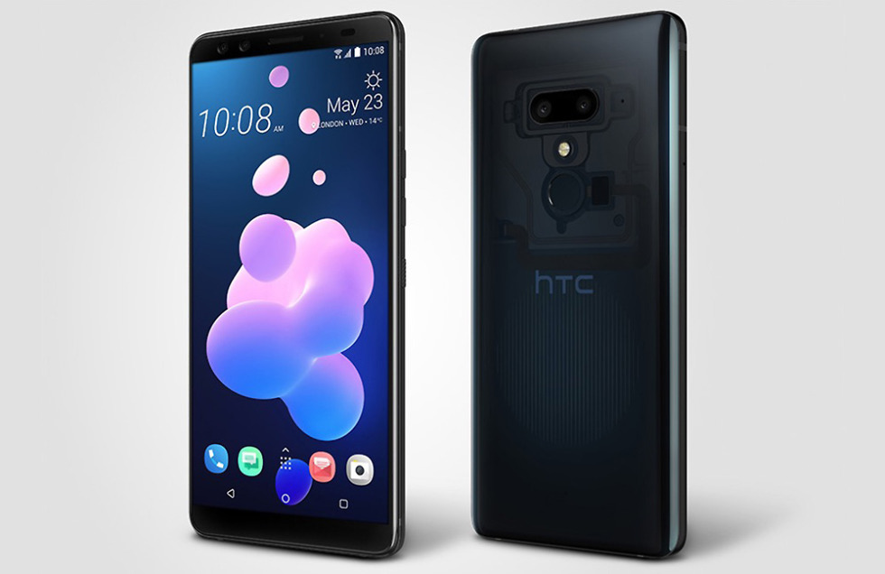 htc u12 translucent blue