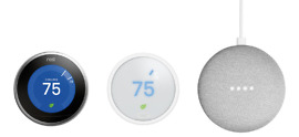 nest thermostat free home mini