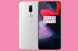 oneplus 6 silk white official