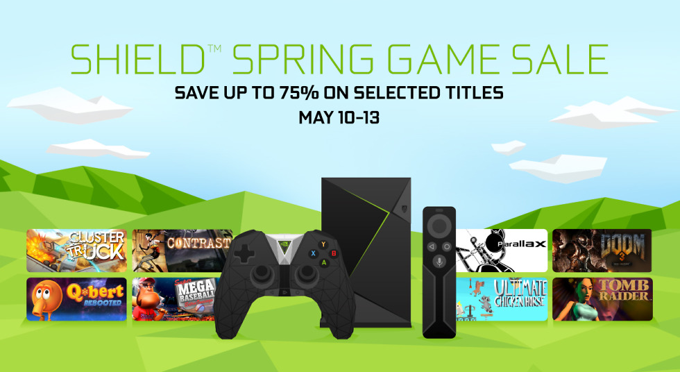 Sprint Game Sale from NVIDIA