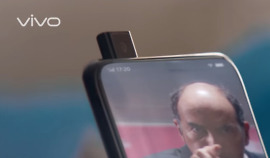 vivo pop up camera