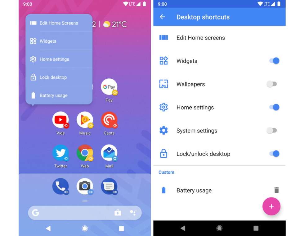 Action Launcher v37