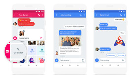 android messages new features