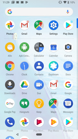 android p beta 1