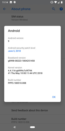 android p beta 2 dp3