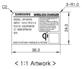 fcc new samsung fast wireless charger