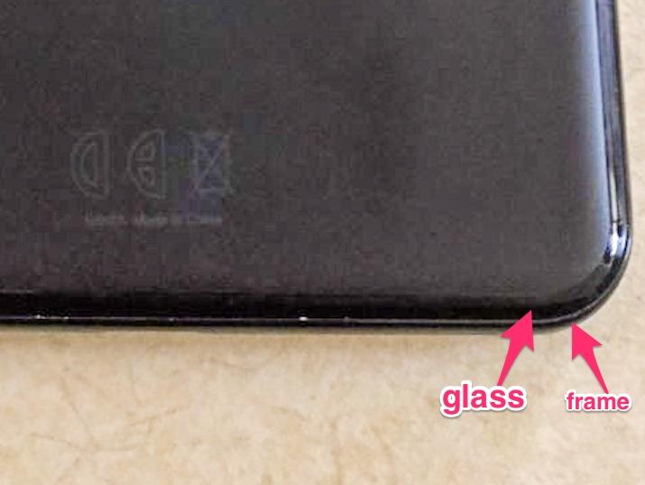 pixel 3 xl frame glass