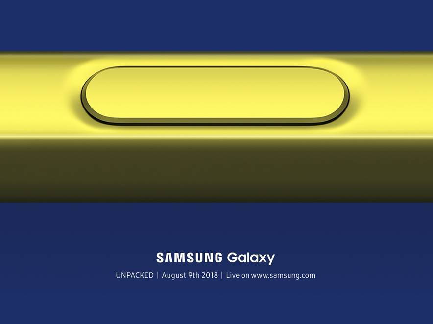 Galaxy Note 9 Invite