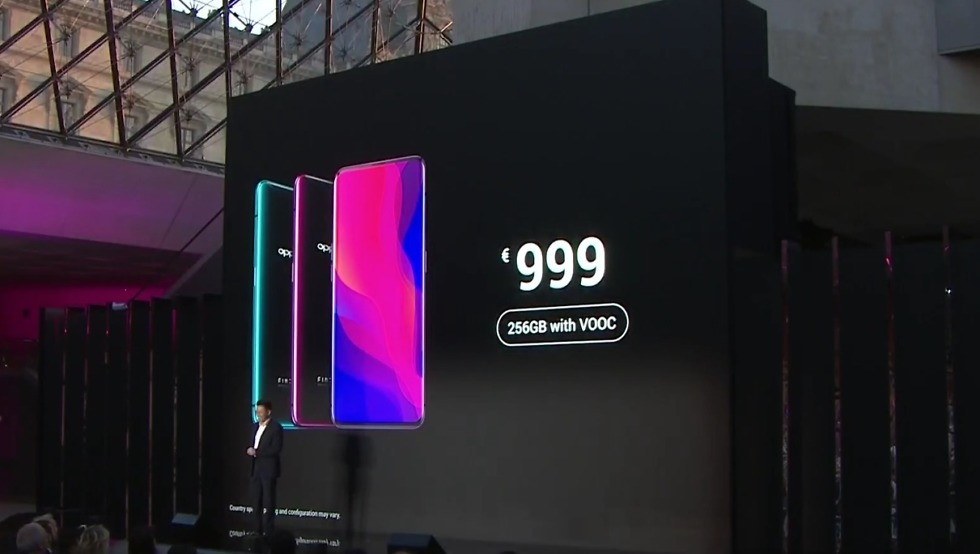 oppo find x price, release date