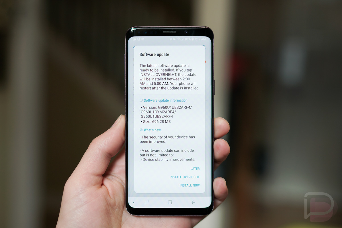 OMG: US Unlocked Galaxy S9 Units Now Getting First Update in