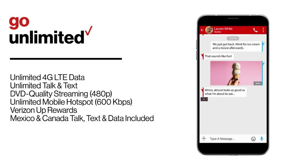 verizon go unlimited plan