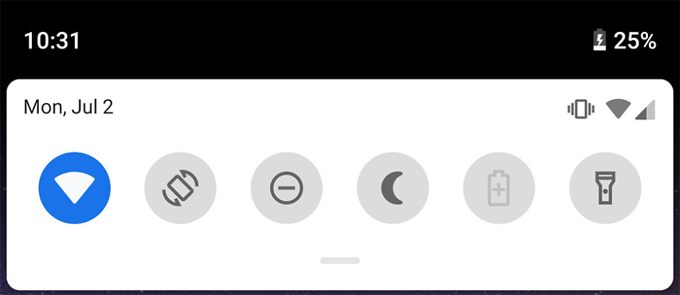 android p dp4 notif change