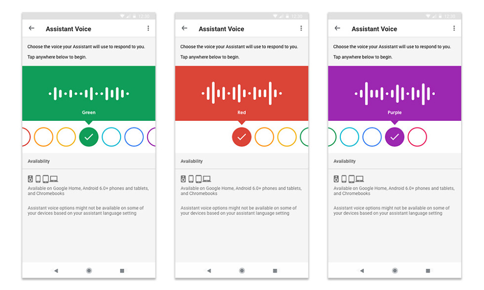 Google Assistant Voice UX