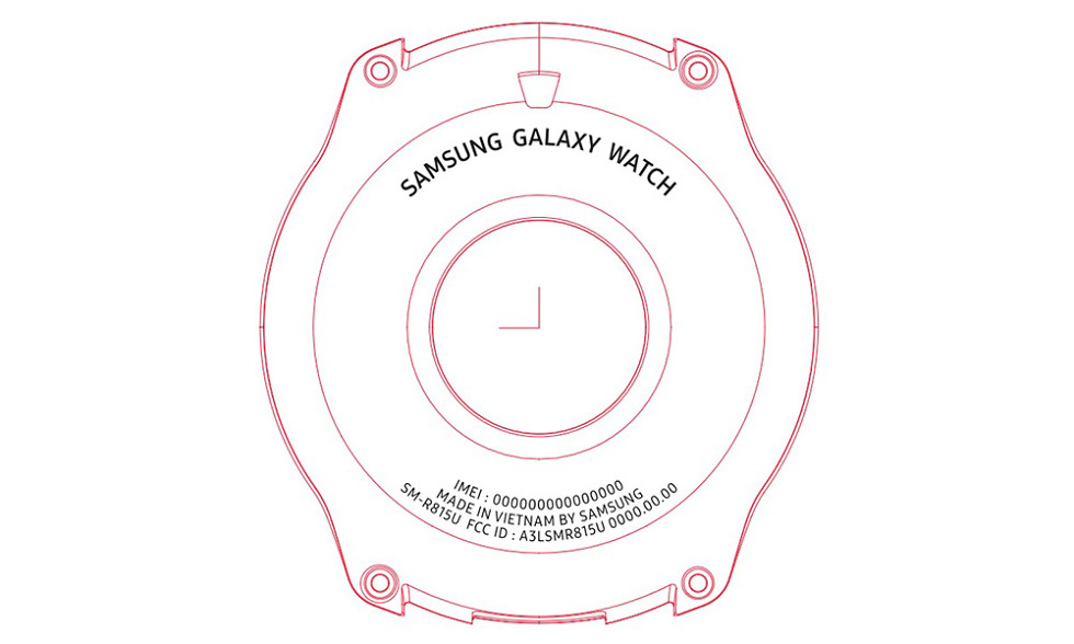Samsung Galaxy Watch FCC