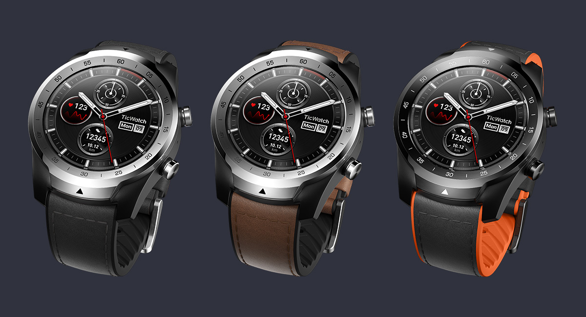 The TicWatch Pro, the smartwatch with two displays, is now available