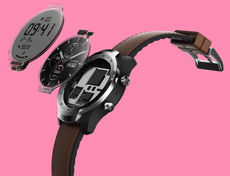Mobvoi's dual-display TicWatch Pro is now available to order