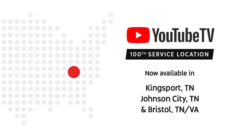 YouTube TV Markets