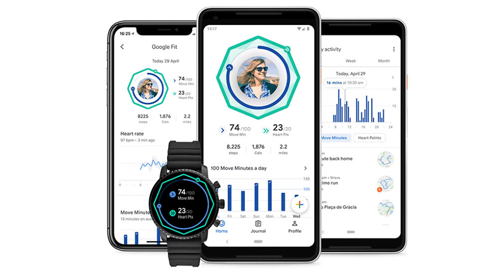 New Google Fit