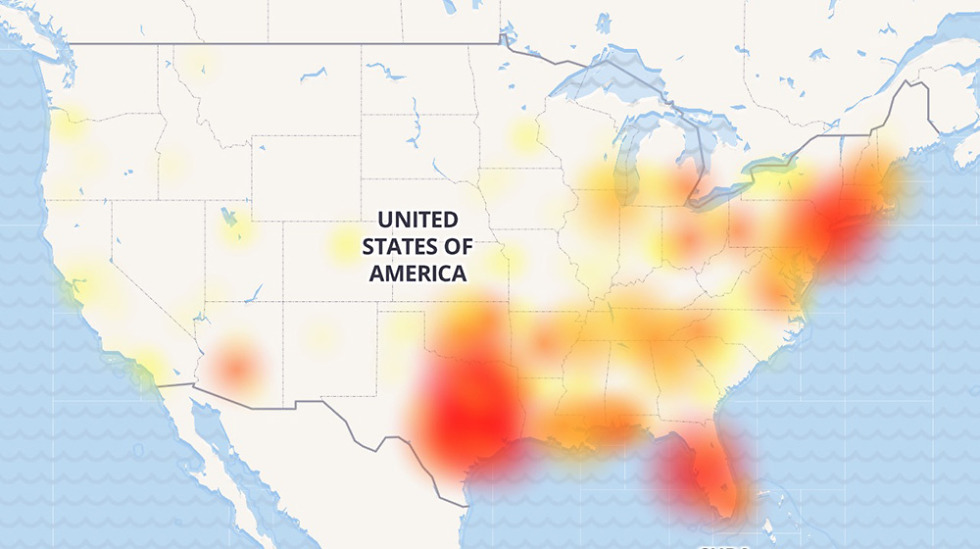 Verizon Outage Texas, Florida