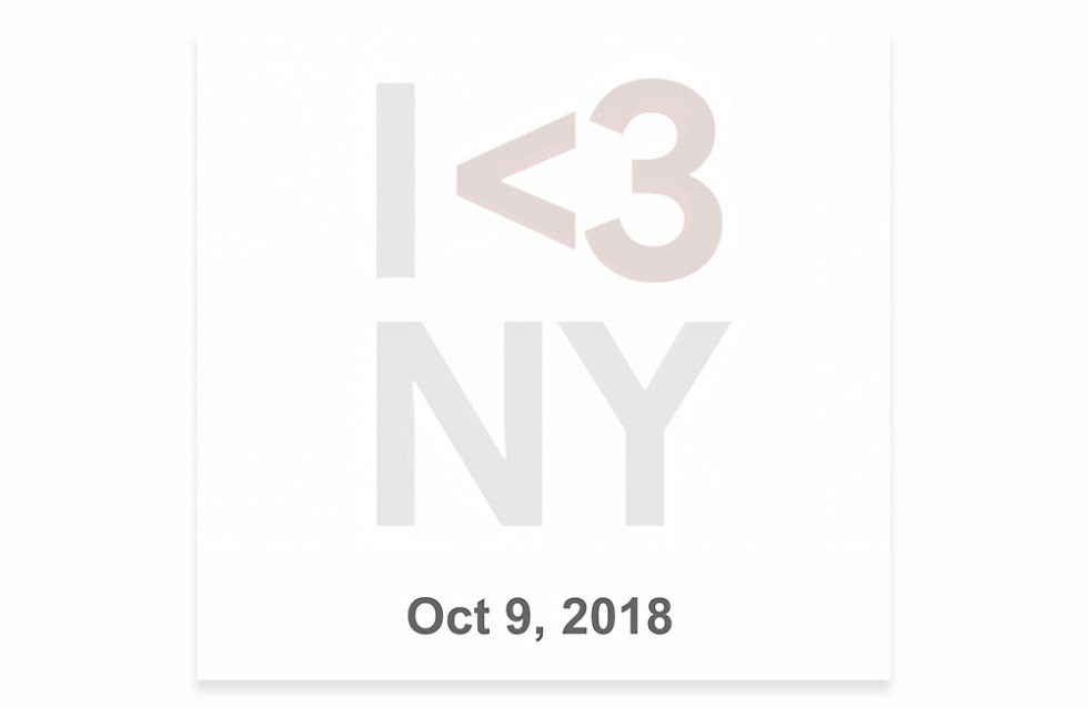 Google Pixel 3 Event October 9