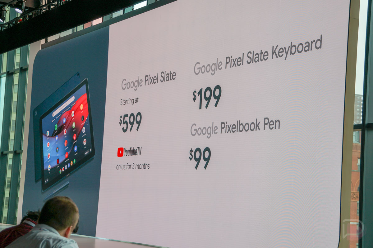 Pixel Slate is Latest Chrome OS Device From Google, Available Later