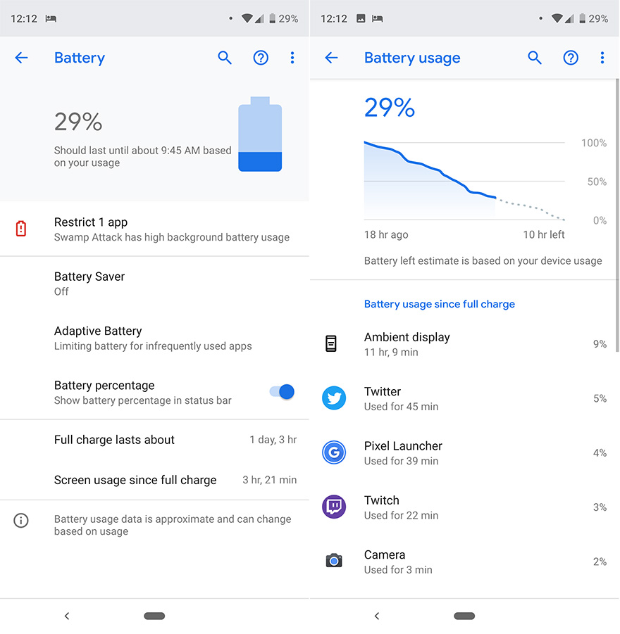 Pixel 3 XL Battery