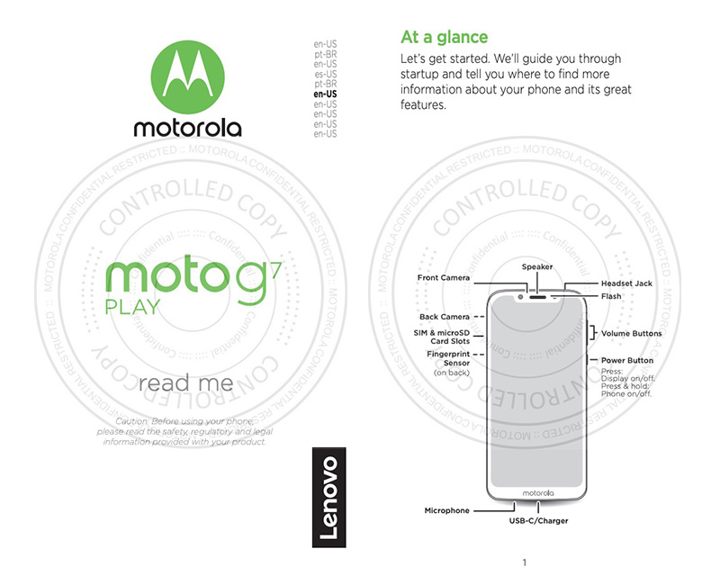 Moto G7 Play User Guide