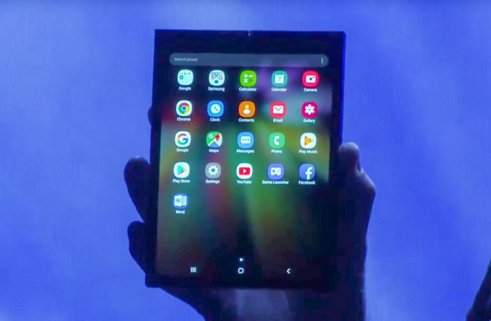 Samsung Foldable Device