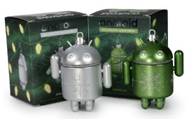 Android Mini Christmas Ornaments