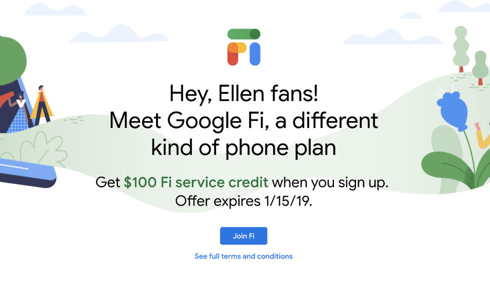 Sign-Up for Google Fi Before January 15, Receive $100 in