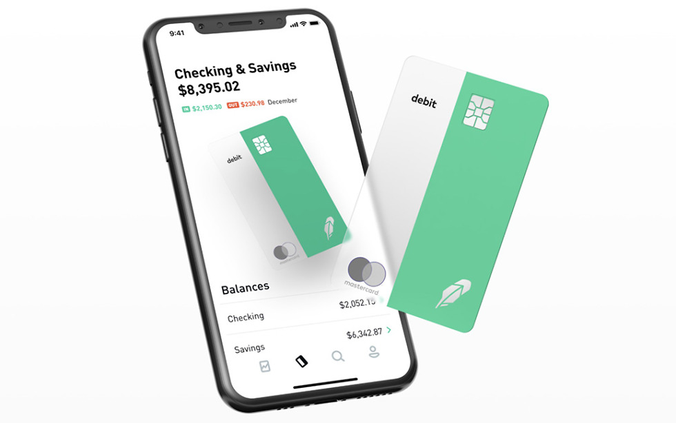 Robinhood Checking Savings Card
