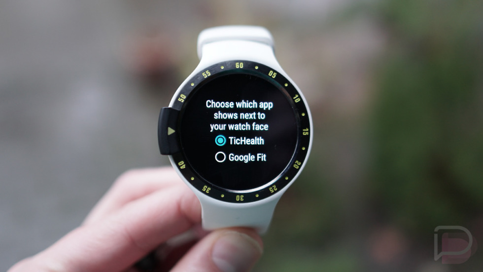 Ticwatch Google Fit