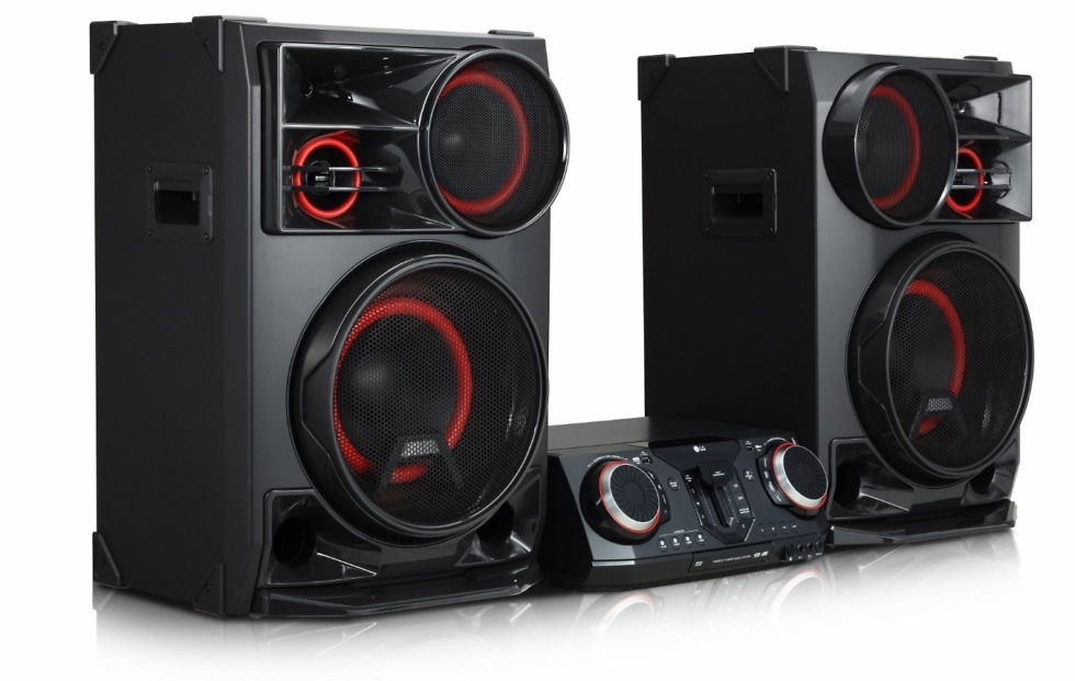 LG XBOOM speakers