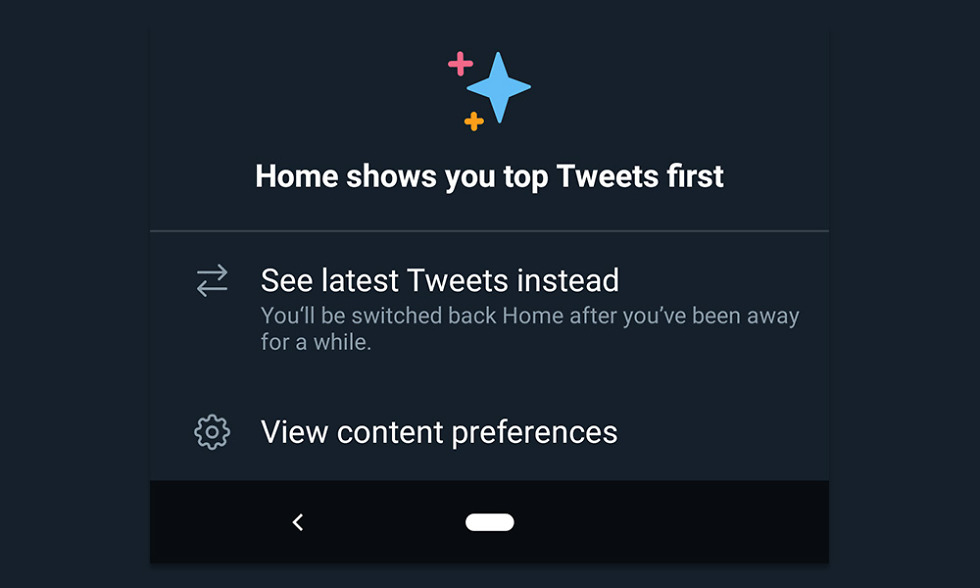 Twitter Android Timeline