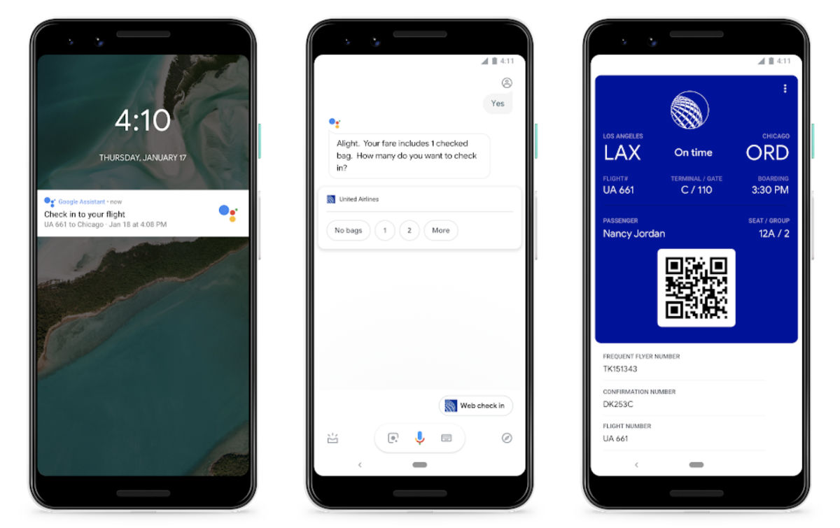Flying United? That's Too Bad, But Google Assistant Can Now Check