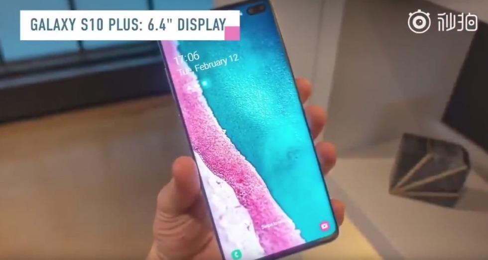 Galaxy S10+ Display