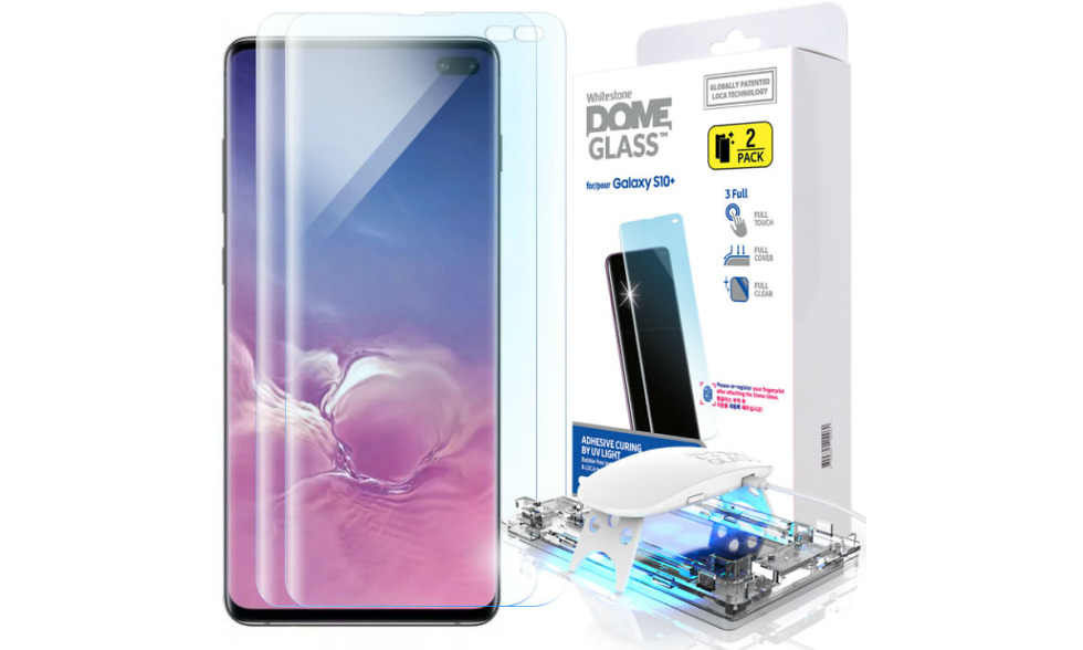 Whitestone Glass Galaxy S10