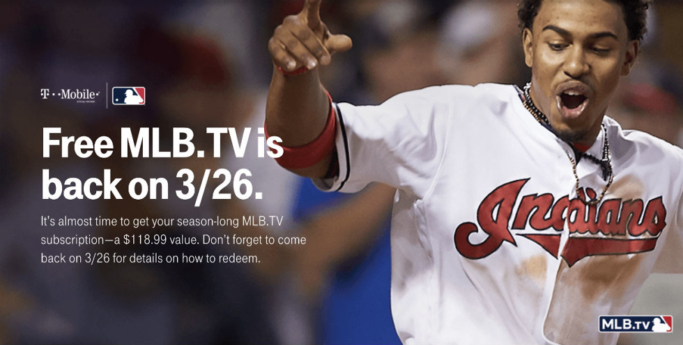 T-Mobile's Free MLB TV Offer is Now Live in T-Mobile Tuesdays App