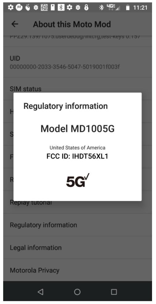 Motorola 5G Moto Mod
