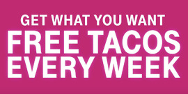 T-Mobile Free Tacos