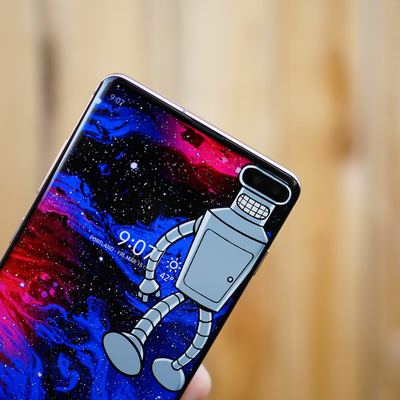 You Need These Wallpapers That Embrace Your Galaxy S10
