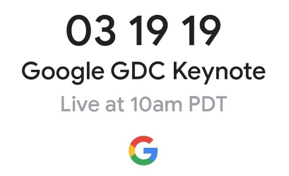 "WATCH: Google Announces ""Future of Gaming"" at GDC!"