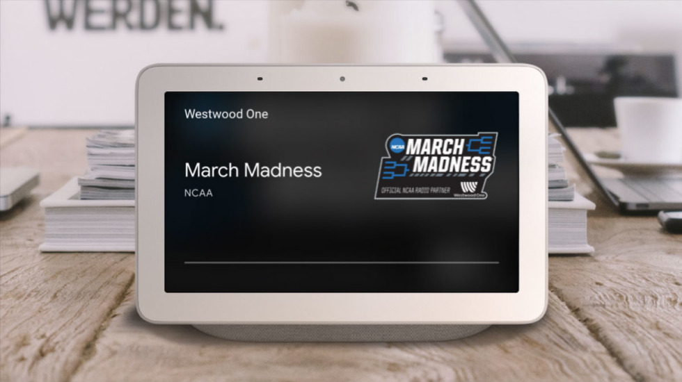 Listen To March Madness On Any Smart Speaker Or Display With Google Assistant