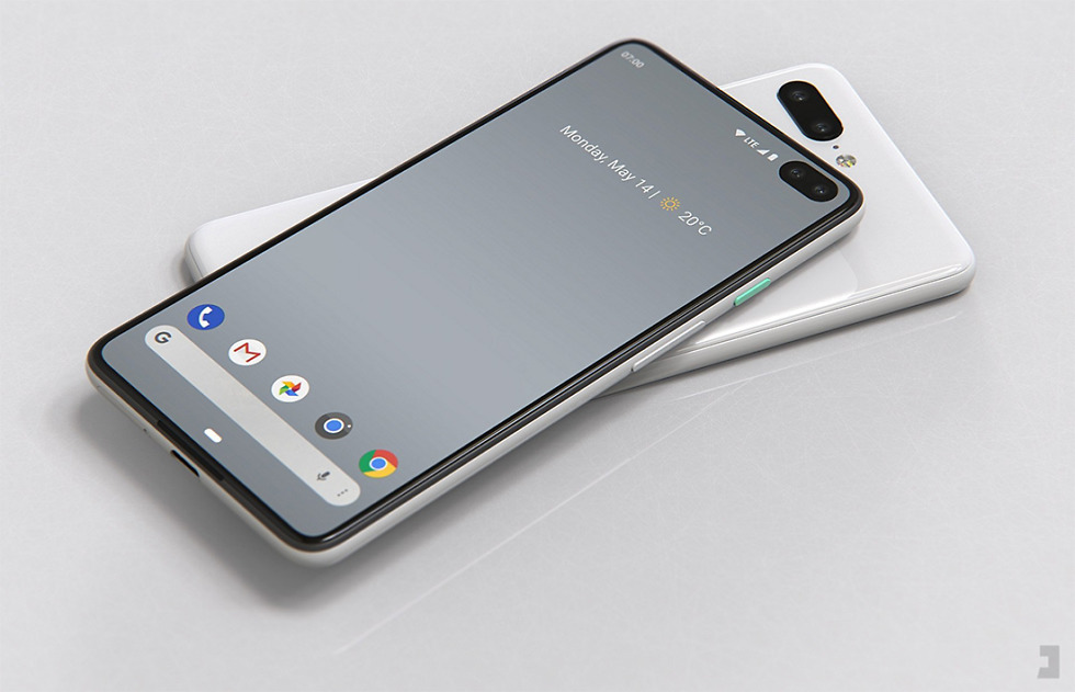 Image result for pixel 4 leak render