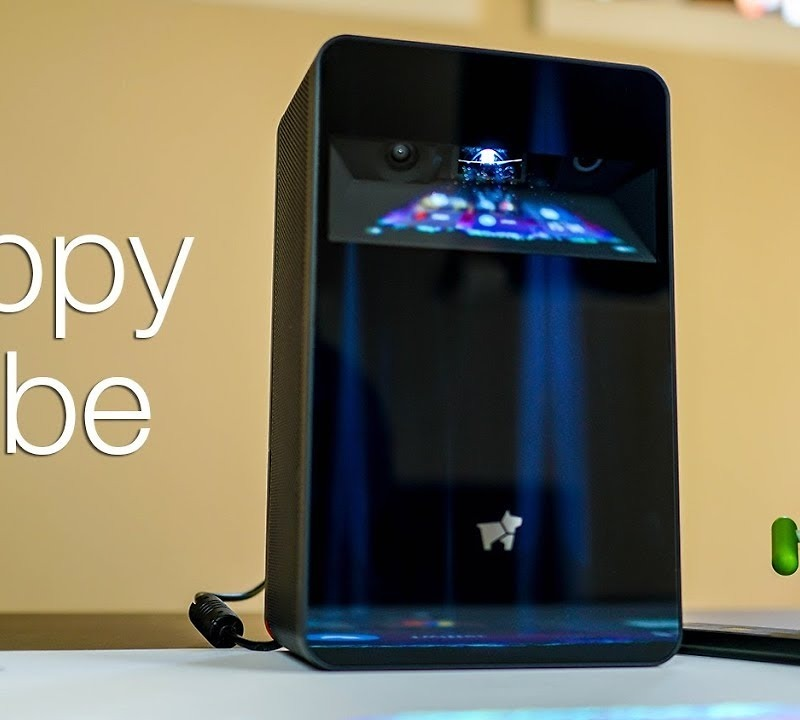 This Android-Powered Projector is Cool, But Costs a Lot of Money