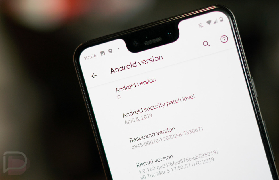 Android Q Beta 2 Changes