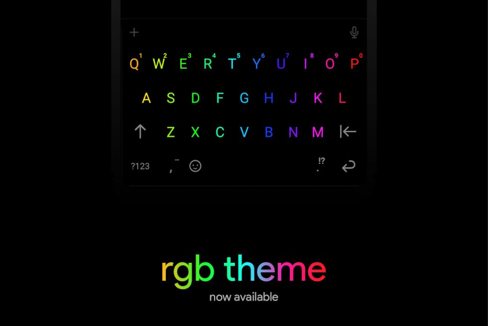 This RGB Theme for Chrooma Keyboard is Hot