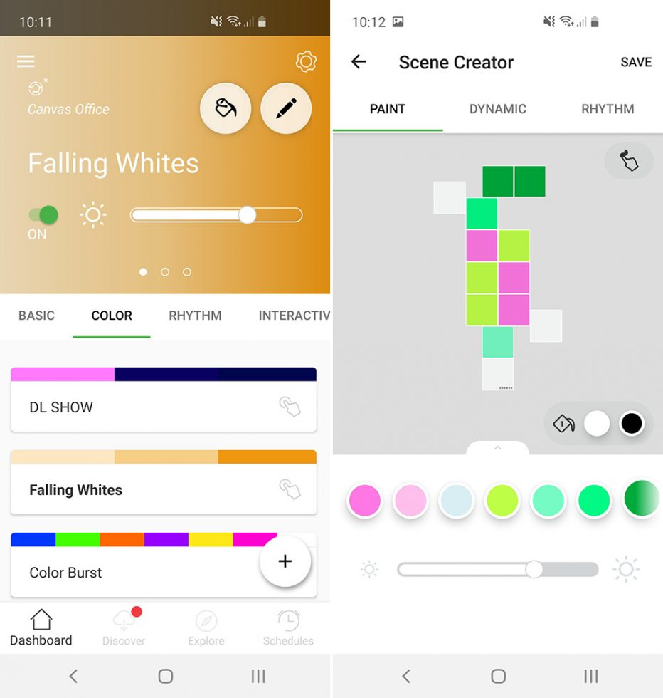 Nanoleaf Canvas App