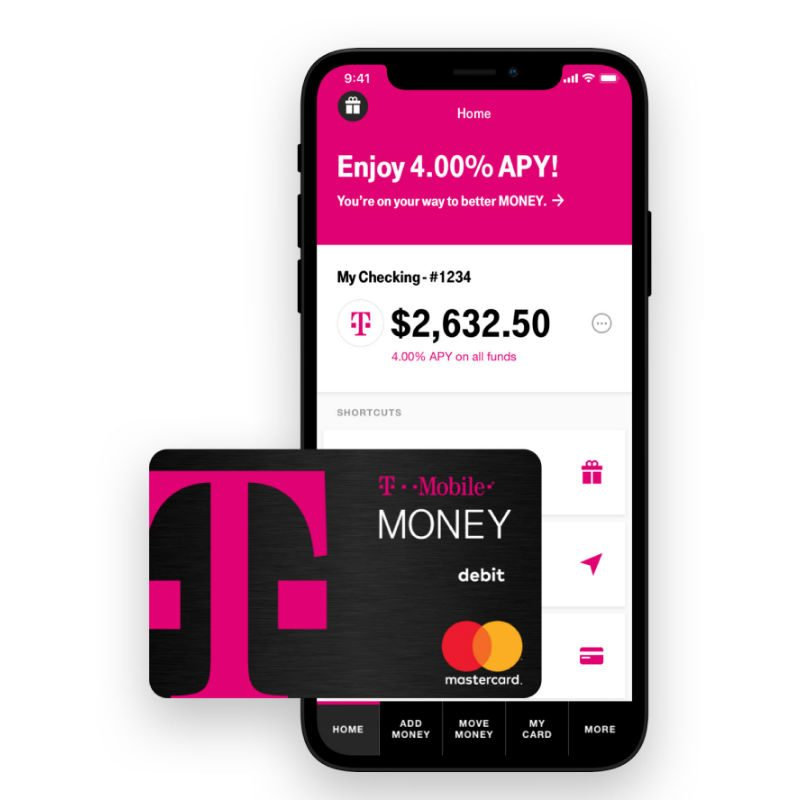 T-Mobile is Now a Mobile Bank, Offers No Fees and 4.00% APY